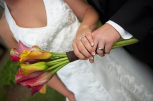 wedding hands